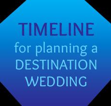 Timeline for a destination wedding